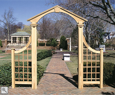 Salem Arch by Trellis Structures