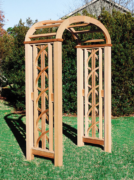 The Chesapeake Arbor by Trellis Structures