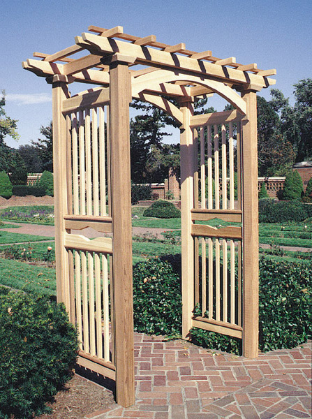The english arbor by trellis structures for Trellis or arbor