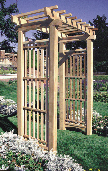The Sacramento Arbor By Trellis Structures