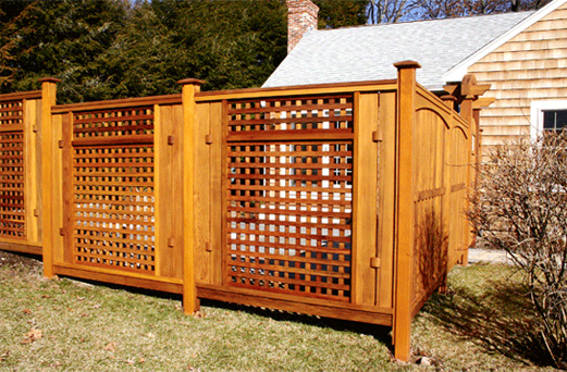 Asian Style Privacy Fence No Cf11 By Trellis Structures