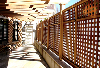 Privacy Lattice Panels No Cf12 By Trellis Structures