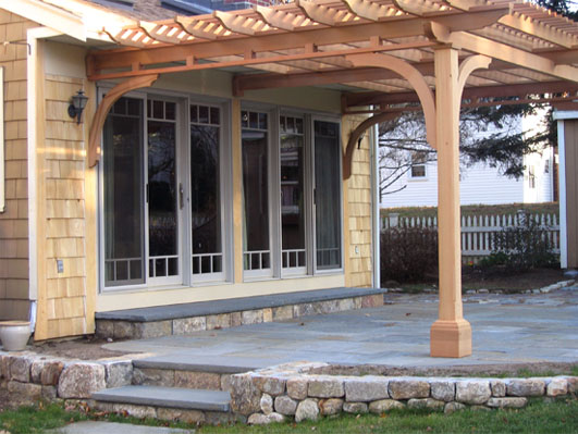 Woodwork Attached Pergolas Pdf Plans