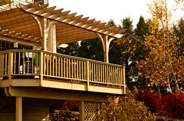 Attached Pergola No Ap7 By Trellis Structures