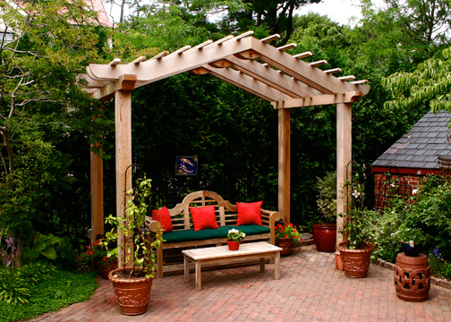 asian style pergola no asp1 by trellis structures