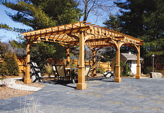 Patio Pergola No. ASP6