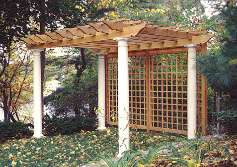 Woodwork Pergola Trellis PDF Plans