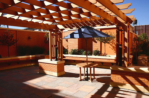 Commercial Pergolas No Cpg3 By Trellis Structures
