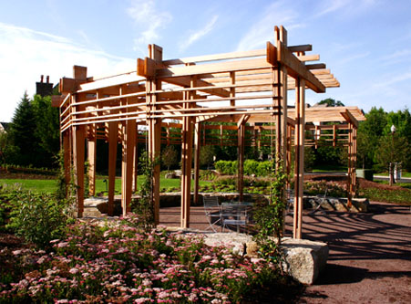 Contemporary Pergola No Cpg5 By Trellis Structures