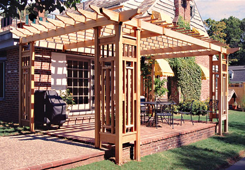 Awesome Contemporary Pergola No. CTP12a