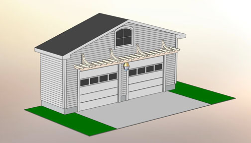 Garage Pergola No Gp1a