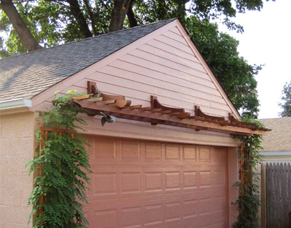 Garage Pergola No. GP4a