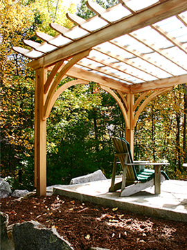 Shade Pergola No Sp4 By Trellis Structures