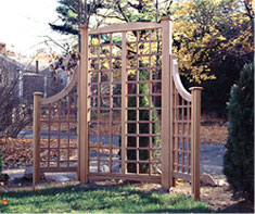 Garden Trellis With Extensions